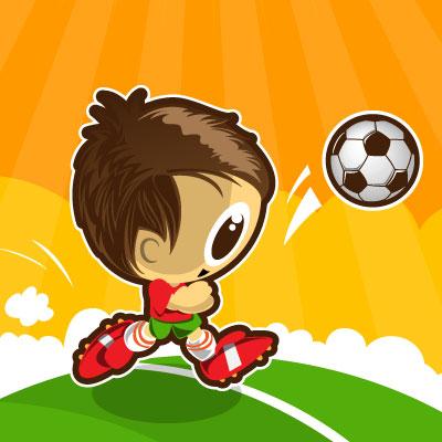 ボクとサッカーボール