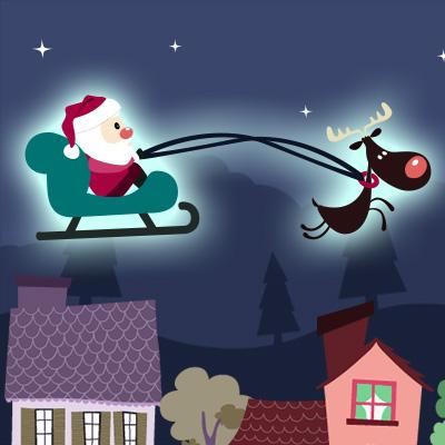 サンタのクリスマスナイト