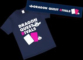 ドラゴンクエストライバルズのTシャツとマフラータオル