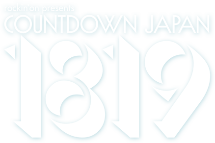 rockin'on presents COUNTDOWN JAPAN 1819