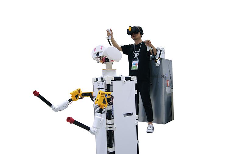 遠隔操作ロボット CAIBA ROBOTS