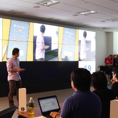 社内版 Hack Day Japan プレゼンテーション+作品展示会