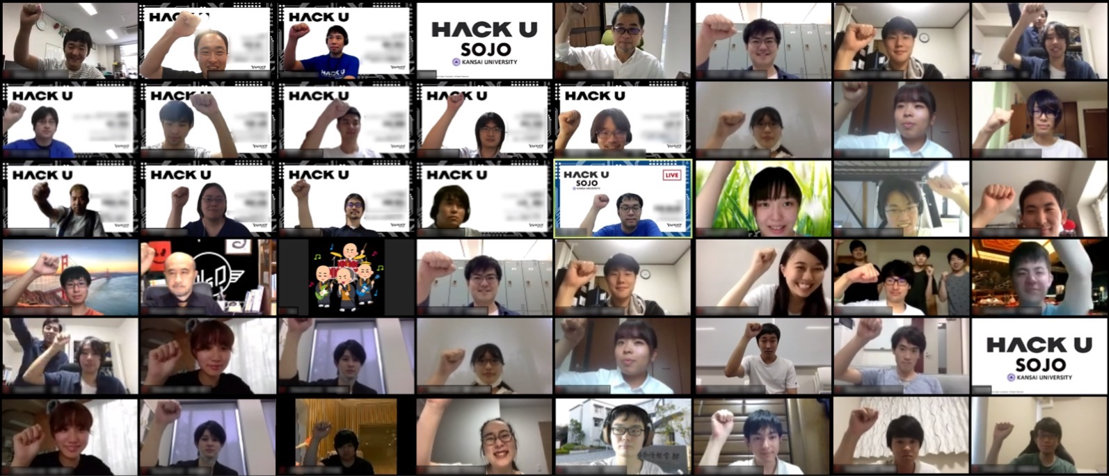 Hack U 関西大学 SOJO 2019のキービジュアル画像