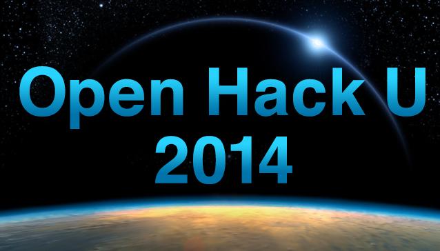 Open Hack U 2014