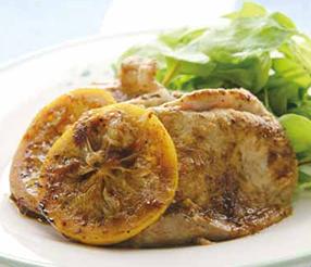 豚肉と塩レモンのマリネソテー