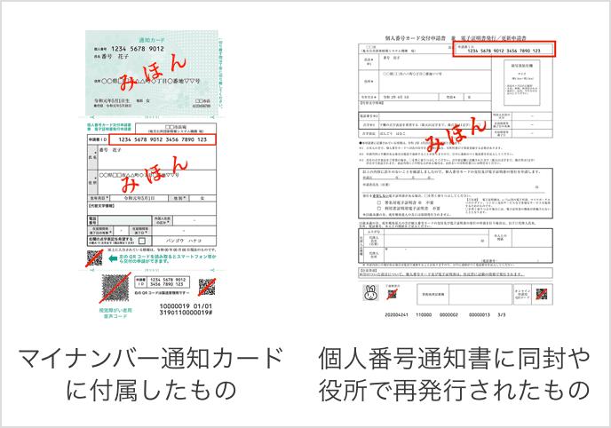 交付申請書の見本