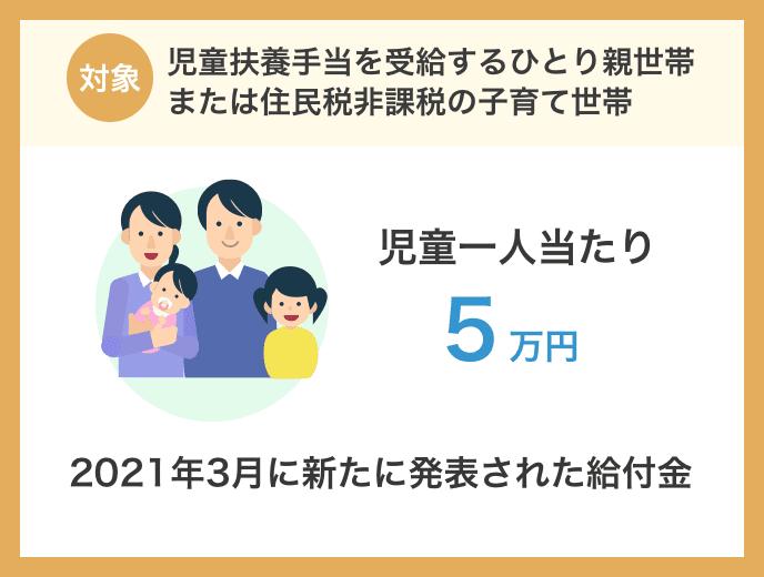 子育て世帯生活支援特別給付金