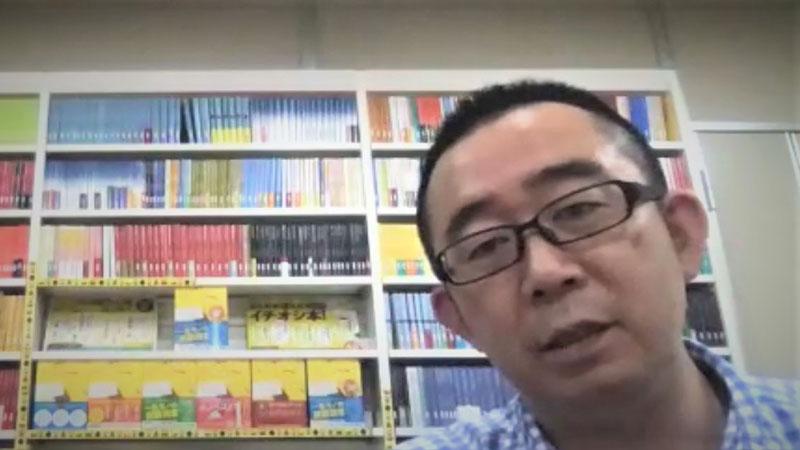 堀口晴正さん。取材はオンラインで行った