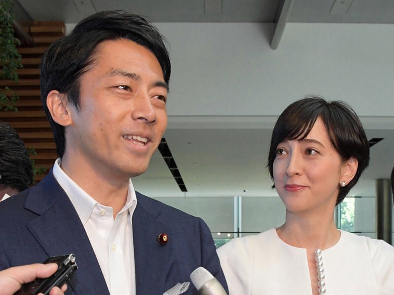 小泉進次郎氏と滝川クリステル結婚