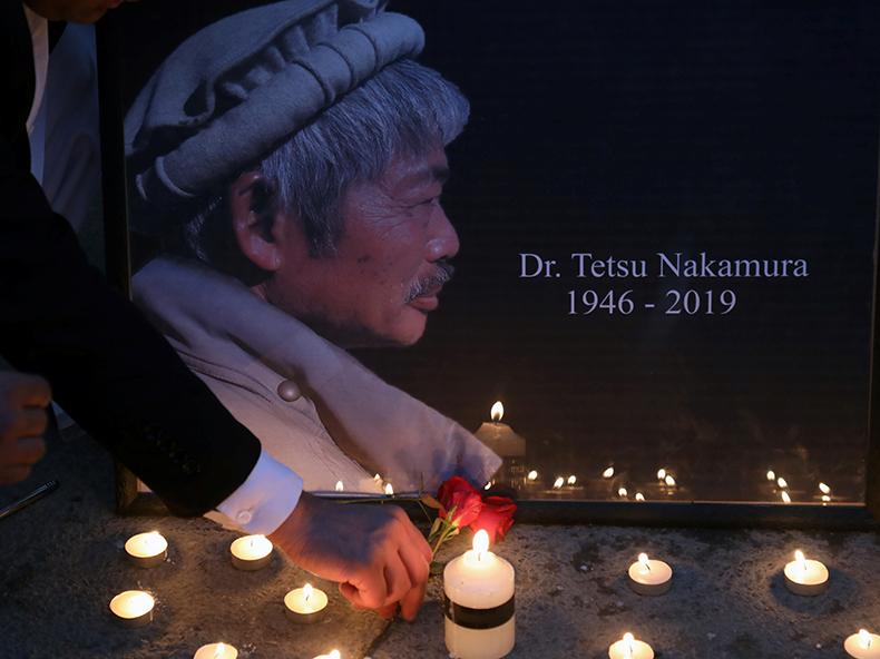 中村医師、アフガンで銃撃され死亡