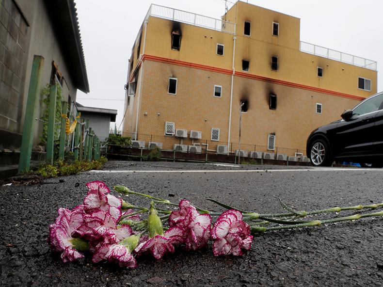 京都アニメーション放火殺人、36人死亡