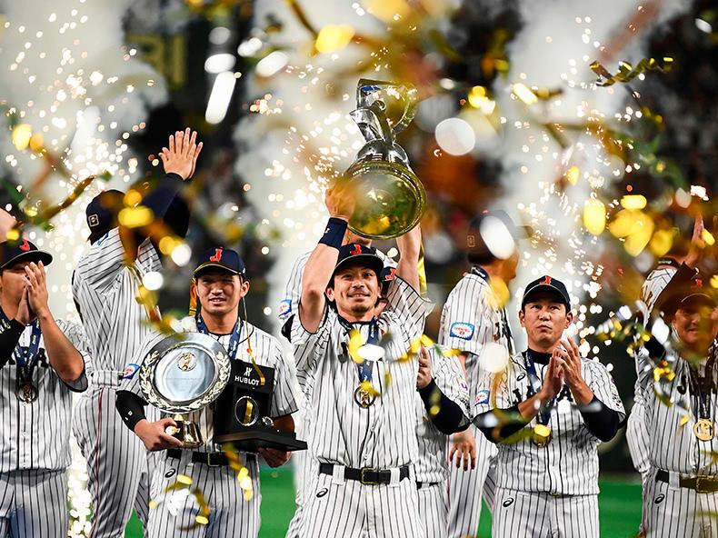 侍ジャパン、韓国を破る 10年ぶり世界一