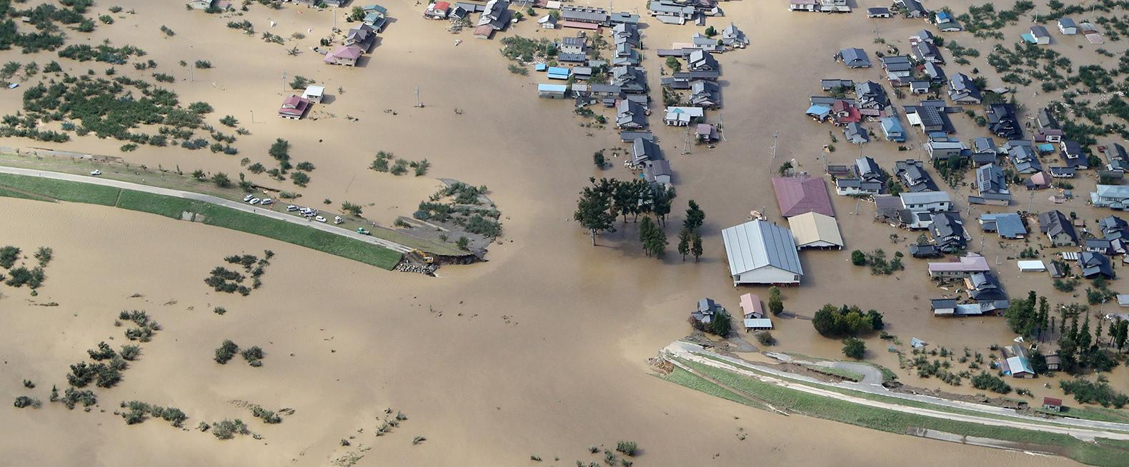 台風19号が上陸 死者・行方不明100人超