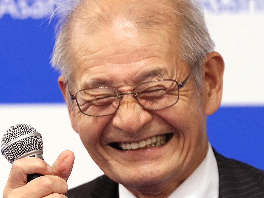ノーベル化学賞に吉野彰氏