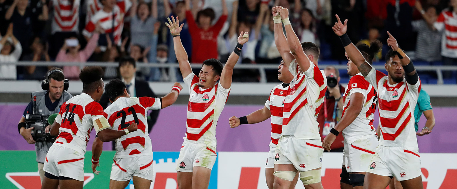 ラグビー日本、初の決勝トーナメント進出 4強逃す