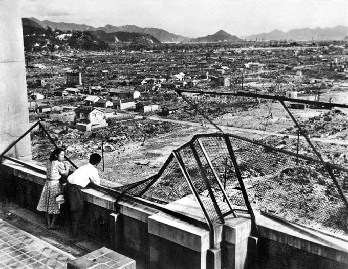 広島_空襲から1年後の広島