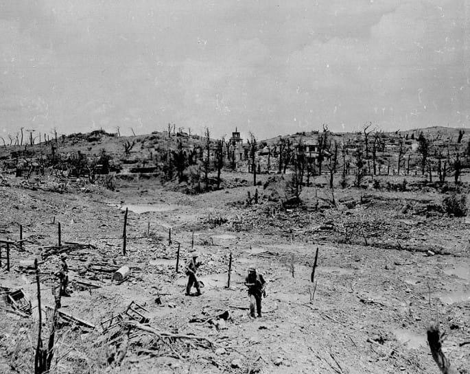 1945年5月29日_首里の廃墟
