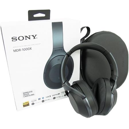 MDR-1000X ワイヤレスノイズキャンセリングステレオヘッドセット(ハイレゾ音源対応)