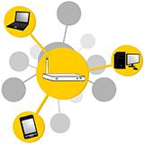 LANについての質問です。 有線・無線LANともにインターネットが繋がってなくても、LANで接続している機器(プリンター)は使えるのでしょうか? ▼ 昨日、勤め先のインターネットが突然使用できなくなったのですが、その際に有線LAN、無線LANで接続しているプリンターが使えて驚きました。自分の中ではインターネットが繋がってないと、LANで接続された機器は使えないと思っていたからです。同僚には「...