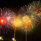 北海道にある洞爺湖の花火は花火大会の花火と違ってなぜ小さいのですか?