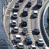 アメリカ合衆国の道路で、道路距離で横断した場合最長何キロですか?日本で言う青森から鹿児島までの東西版です。