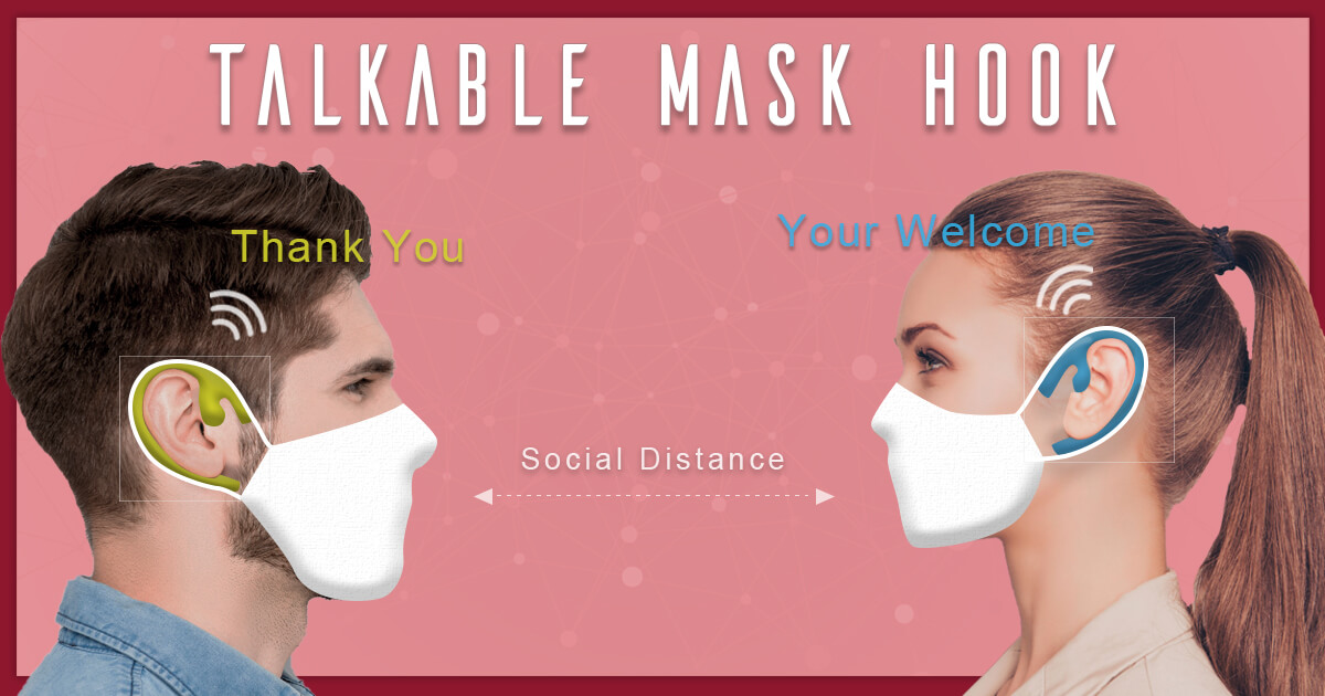 Talkable Mask Hook