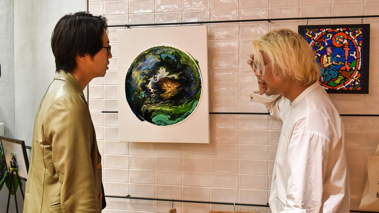 アートへの感動を可視化する実験展5