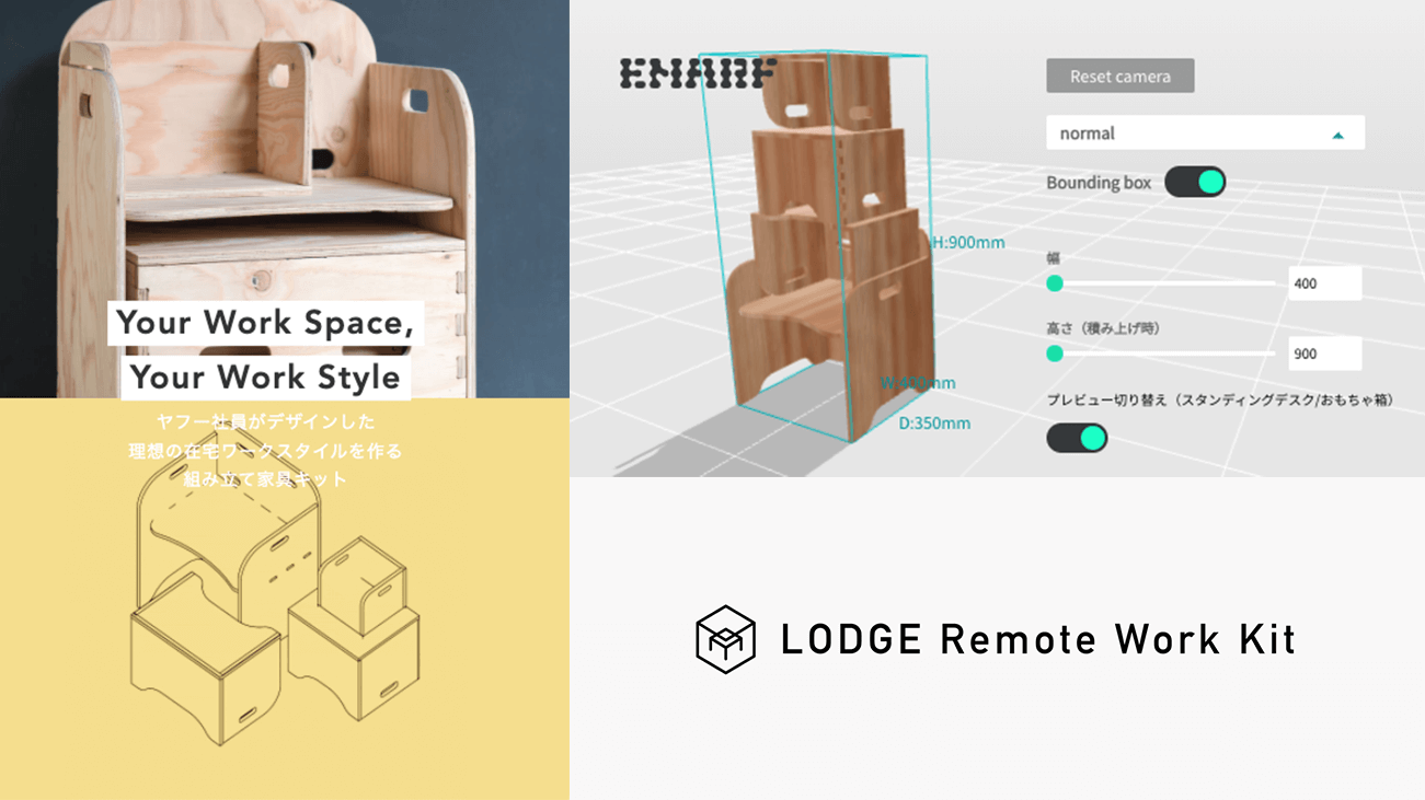 LODGE Remote Work Kit