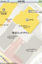 標準地図の表示例