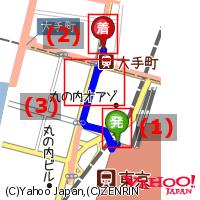 経路地図の説明