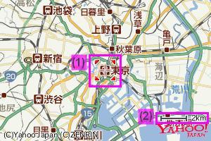 地図の説明