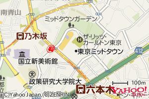 縮尺レベル16の地図