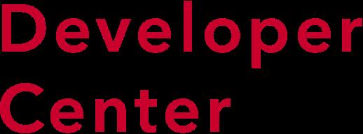 Developer Center