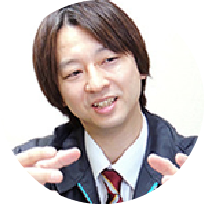 有限会社サンステップ情報企画課 チーフ 小野尾 吉広氏