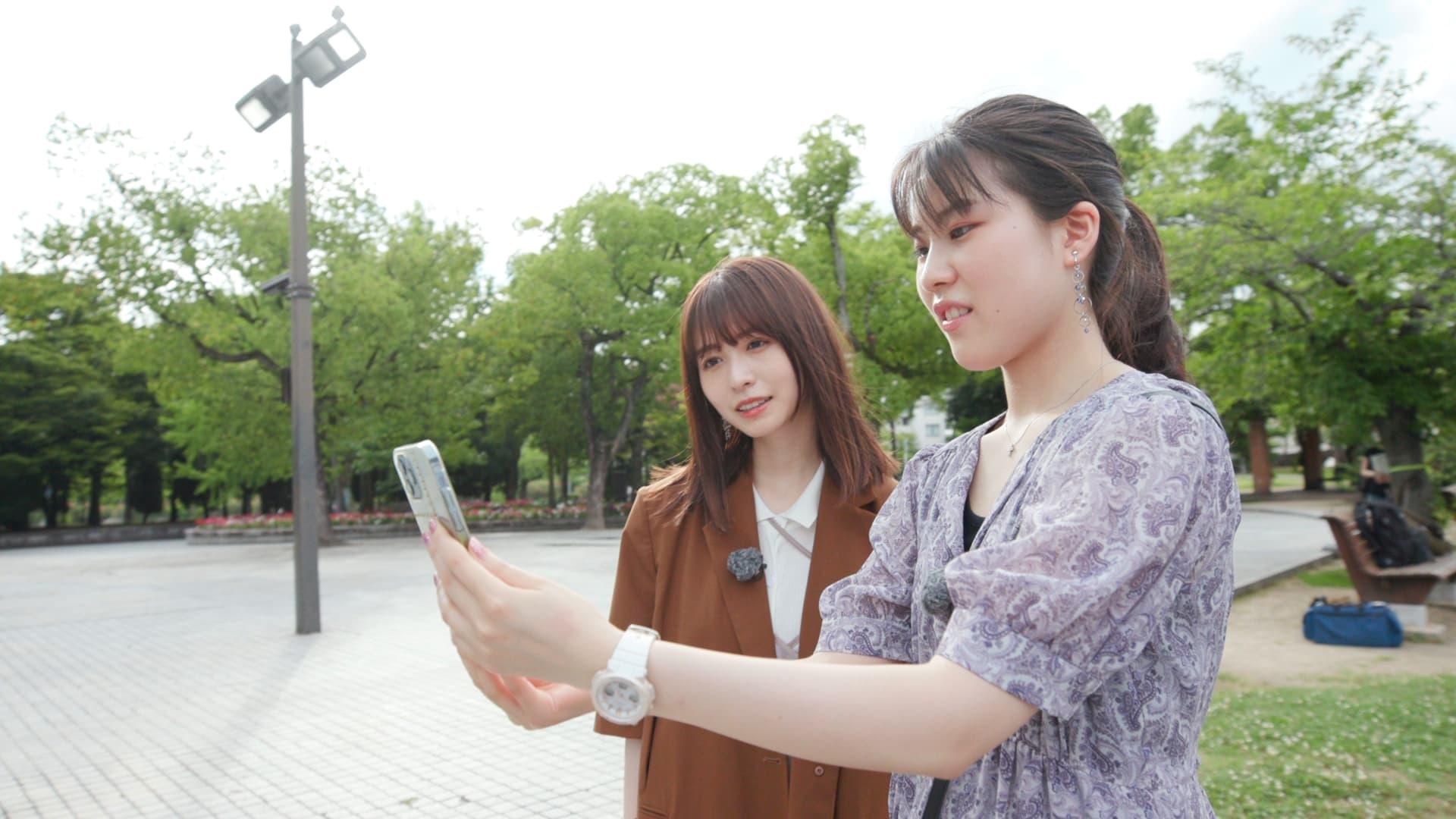 「記憶の解凍」について説明する庭田杏珠さん