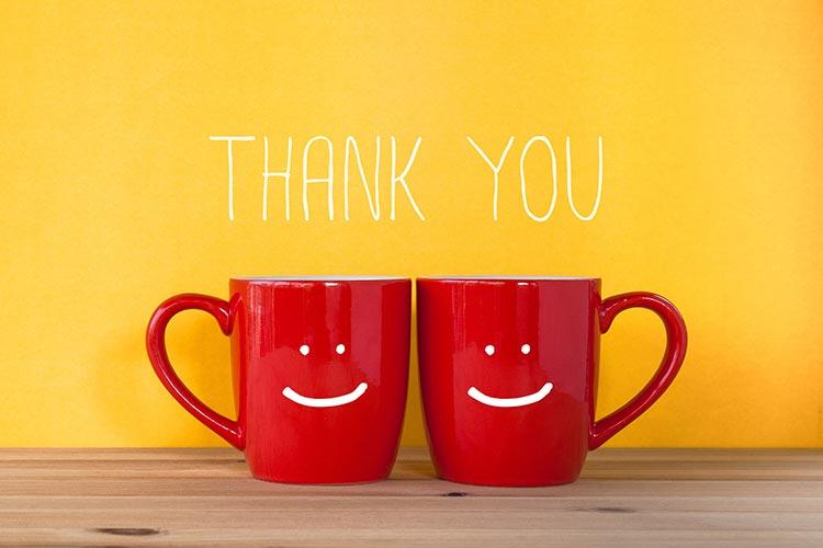 「ありがとう!」を押して、押されて......素敵な相手と恋愛の第一歩を踏み出そう!