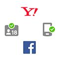 Yahoo! JAPAN ID 登録情報・年齢確認・携帯電話認証・Facebook連携