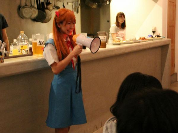 「ATフィールド全開」で乾杯! 豪華SPゲスト 桜 稲垣早希さんの登場に会場大興奮!