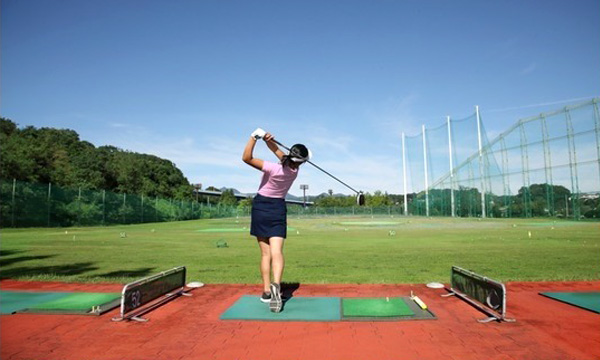 ゴルフ練習場in東京サマーランド