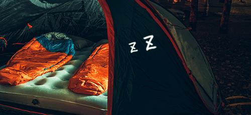 寝袋・マット写真