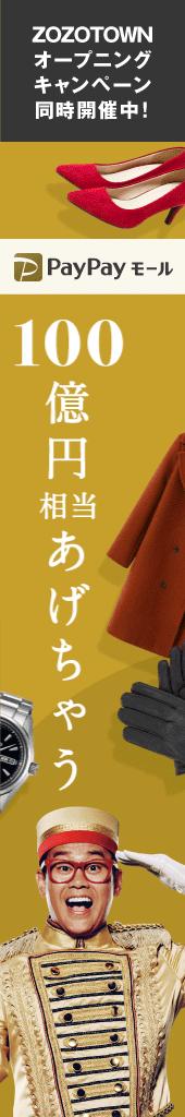 PayPayモール100億円+zozo