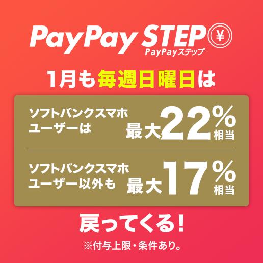 PayPayステップ