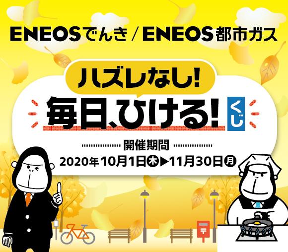 ハズレなし! ENEOSでんき/都市ガスくじ