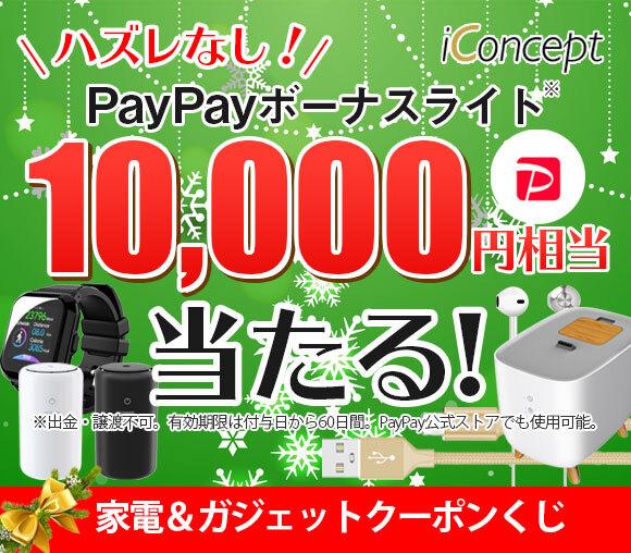 最大10,000円相当のPayPayボーナスライトが当た...