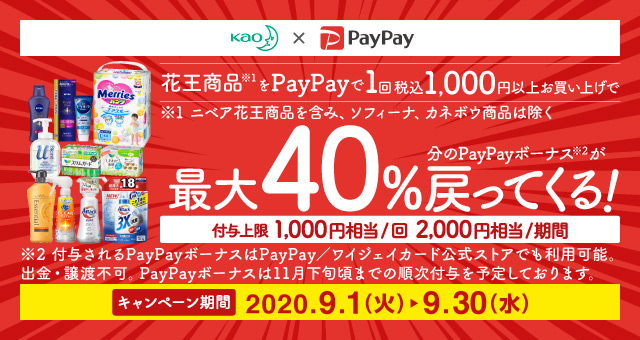 Paypay 花王