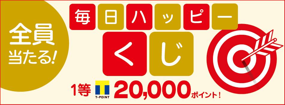 カッテミルにてクチコミ投稿するだけ! 最大Tポイント20,000ポイントが当たる!