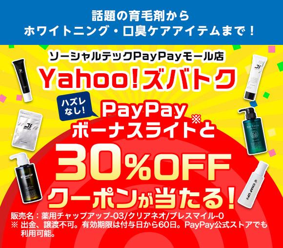 ハズレなし! PayPayボーナスライトと30%OFFク...
