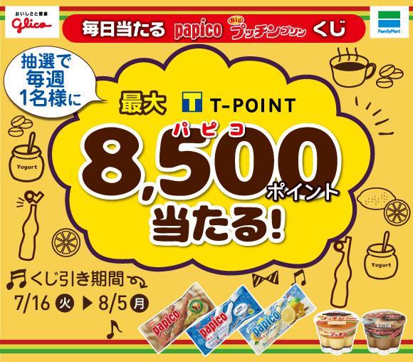 8.5パピコの日登録記念♪ パピコ・プッチンプリンくじ!