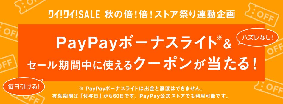 最大PayPayボーナスライト10,000円相当が当たる!