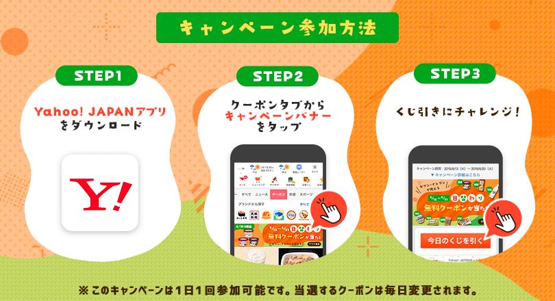 Yahoo! JAPANアプリからの参加方法